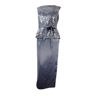 Platinum cocktail dress