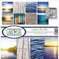 "Lake Life - Reminisce Collection Kit 12""X12"""