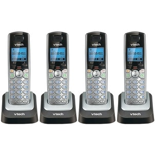 Vtech DS6101 (4-Pack) 2-Line Cordless Additional Handset for DS6151 Phone