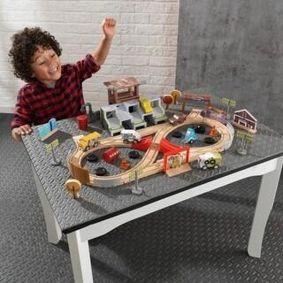 KidKraft: 50 piece Thunder Hollow Track Set