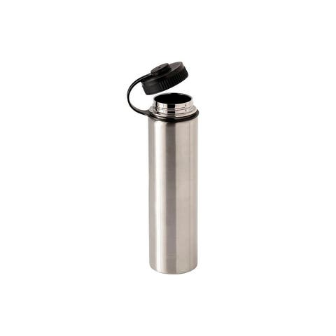 Monoprice Vacuum Sealed 25 fl. oz. Wide-Mouth Water Bottle - Stainless Steel