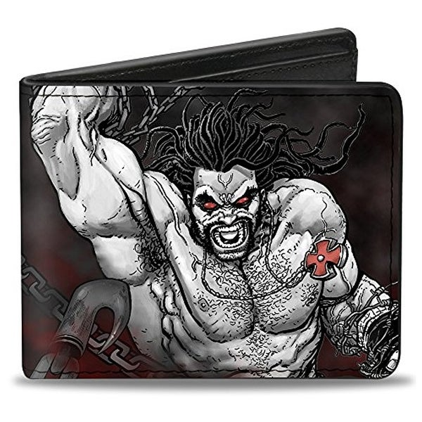 Buckle-Down Bifold Wallet Justice League Lobo