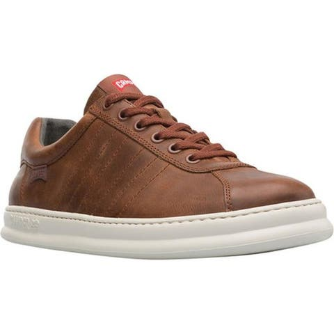 Camper Men's Runner Sneaker Brown Smooth Leather