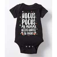 Hocus Pocus Mommy Needs Coffee To Focus - Infant One Piece
