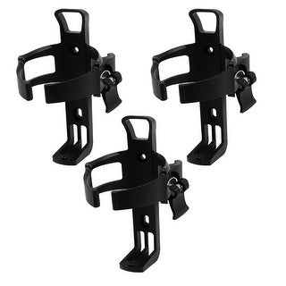 Father s Day Gift l 3Pcs Plastic Adjustable Cycle Bicycle Bike Water Bottle Holder Cage Bracket Black