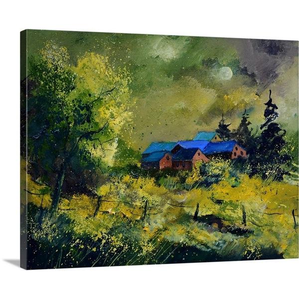 """Greenhouses 5451"" Canvas Wall Art"