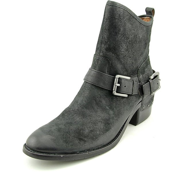 Donald J Pliner Wade Women Round Toe Leather Ankle Boot