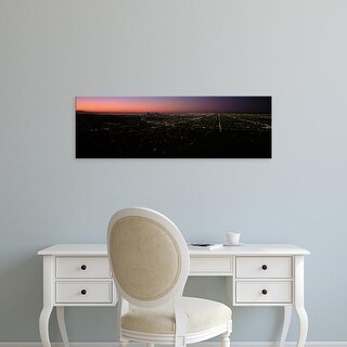Easy Art Prints Panoramic Images's 'Griffith Park Observatory, City Of Los Angeles, Los Angeles, California' Canvas Art