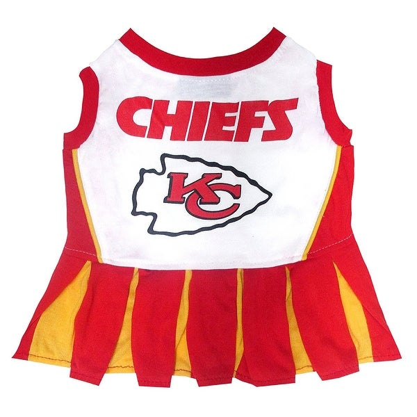 Shop NFL Kansas City Chiefs Cheerleader Dress For Dogs And Cats ... 8029fe6f6