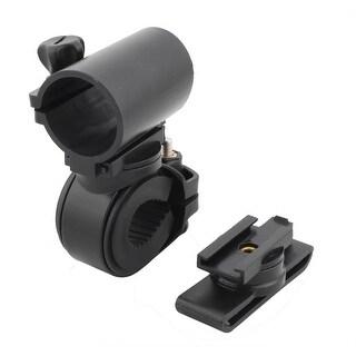 Black Adjustable Bicycle Cycling Handlebar Mount Flashlight Holder Clamp Clip