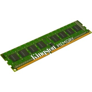 """Kingston KVR13N9S8H/4 Kingston 4GB Module - DDR3 1333MHz - 4 GB (1 x 4 GB) - DDR3 SDRAM - 1333 MHz DDR3-1333/PC3-10600 - 1.50 V"