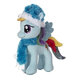 "My Little Pony Rainbow Dash w/ Hat & Scarf 10"" Plush - multi"