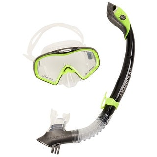 Us Diver Unisex Starbuck Iii Purge Lx/Paradise Dry Ii Lx W/ Go Pro Mount, Neon/Black - os