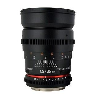 Rokinon 35mm T1.5 Full Frame Cine DS Lens for M4/3 Cameras - Black