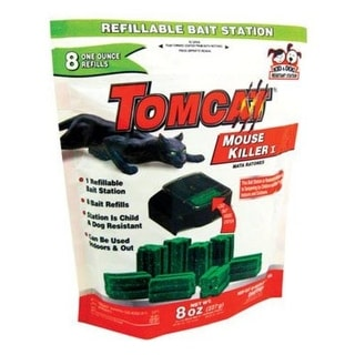 Tomcat 22478 Refillable Mouse Bait Station, Tier 1