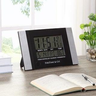 FirsTime & Co. Executive Digital Clock - 11.5 x 1 x 7.5