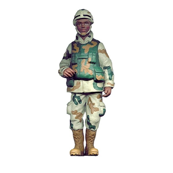 "8"" US Marine Male Soldier Christmas Ornament - multi"