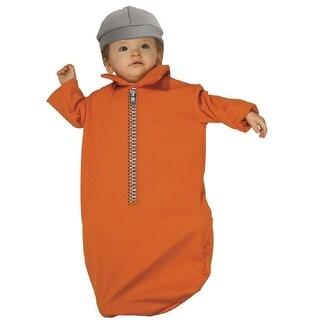 Rubie's Costume Baby Bunting Jailbird, jail, prisoner, 0-9 Months, Halloween