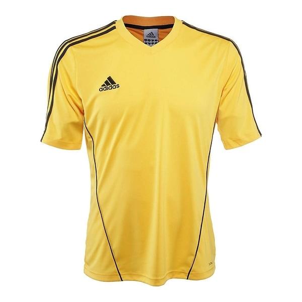 best website d4469 b3e37 Adidas Men's Estro 12 Soccer Jersey Sunshine Gold/Black