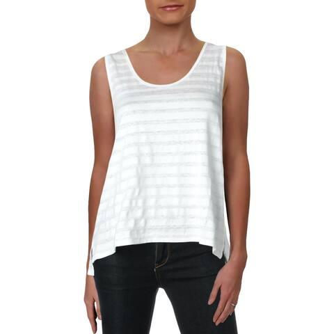 Rag & Bone Womens Tank Top Striped Sleeveless