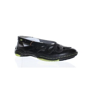 Jambu Womens Juniper Black Flats Size 6