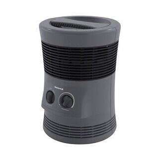 Honeywell HHF360V 360 Degree Surround Fan Forced Heater, Gray
