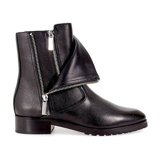 MICHAEL Michael Kors Womens angi ftlat Leather Closed Toe Mid-Calf Motorcycle... (3 options available)