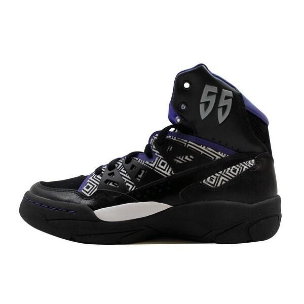Adidas Men's Mutombo Black/Purple-White Q33016