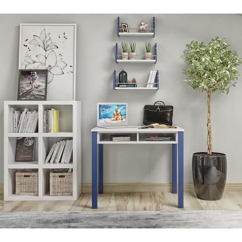 Study Desk with Drawer Space, Computer Desk, Student Desk, Desk for Bedroom