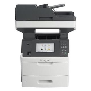 Lexmark MX710DE Laser Multifunction Printer - Monochrome - Plain (Refurbished)