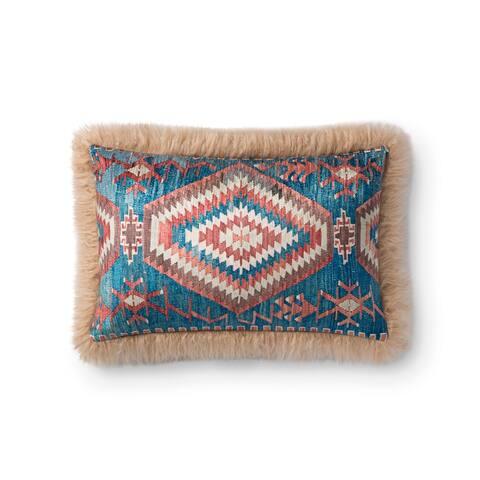 Alexander Home Karthi Southwestern Fur Faux Pillow