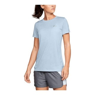 Under Armour Women's Tech Twist T-Shirt, Coded Blue, M