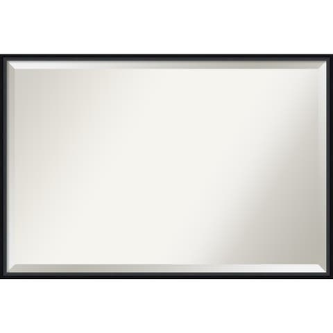Lucie Wood Framed Wall Mirror