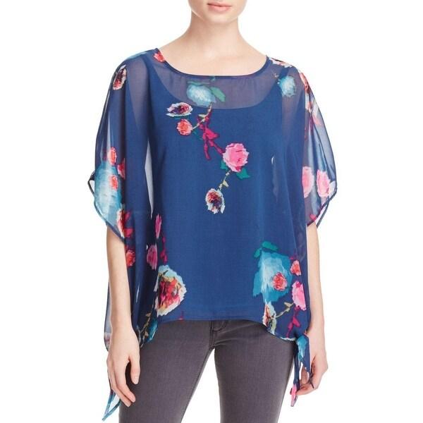 Miraclebody Womens Sadie Kimono Chiffon Floral Print