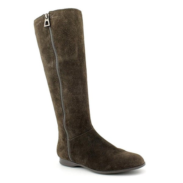 Enzo Angiolini Womens ZEMI Fabric Almond Toe Mid-Calf Riding Boots - 5.5
