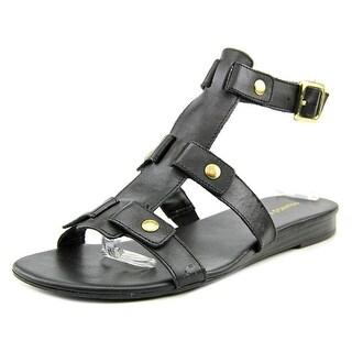 Franco Sarto Giralda Women Open Toe Leather Gladiator Sandal