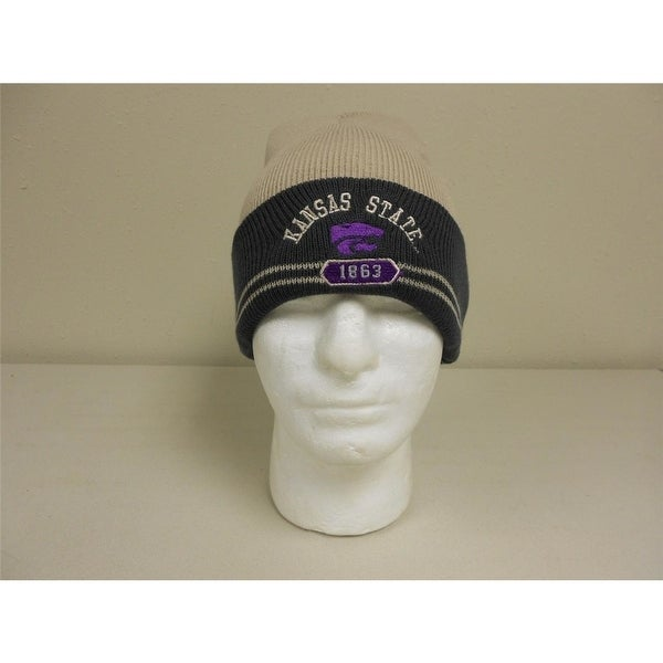 brand new 7a698 2dcdc Kansas State Wildcats Youth One Size Fits All Starter Beanie Hat