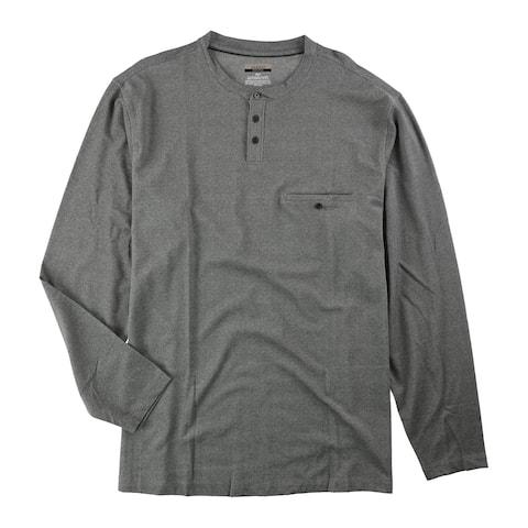 Alfani Mens Big & Tall Ls Henley Shirt