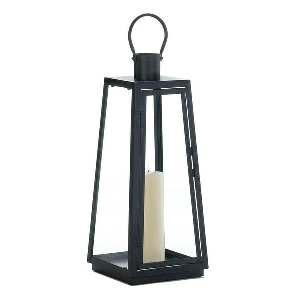 Antique Large Black Exploration Lantern
