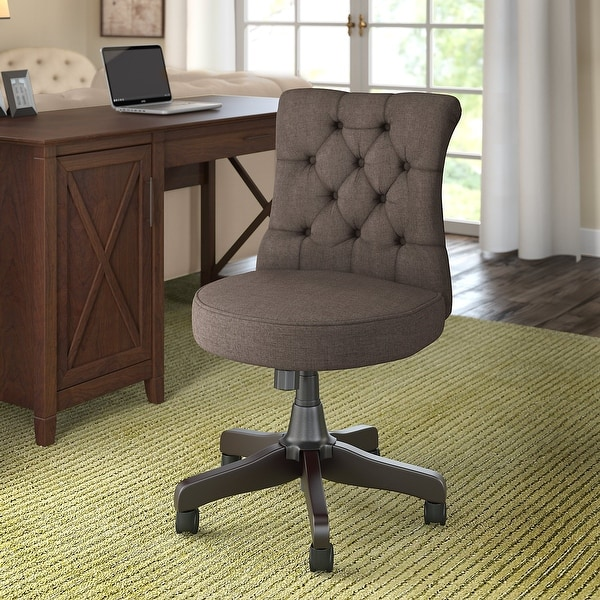 The Gray Barn Hatfield Mid Back Tufted Office Chair. Opens flyout.