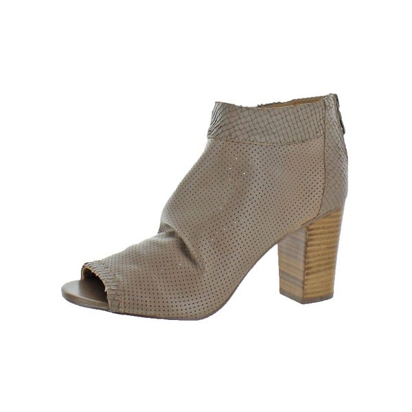 c7234399fdd Shop Steven By Steve Madden Womens Normandi Booties Perforated Open ...