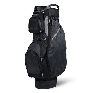 Sun Mountain Ladies Sync No Logo Cart Bag Black Gray CLOSEOUT Black Gray