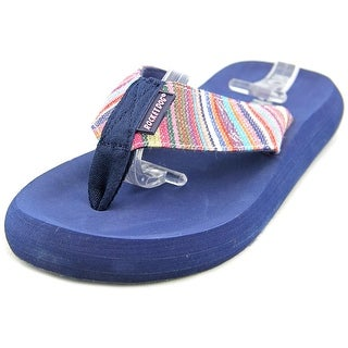 Rocket Dog Spotlight Play Women Open Toe Canvas Multi Color Flip Flop Sandal
