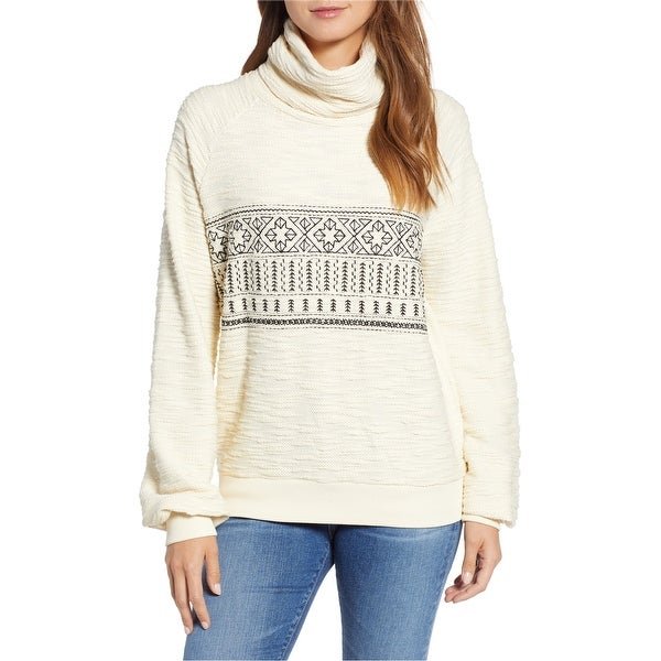 Lucky Brand Womens Embroidered Pullover Sweater. Opens flyout.