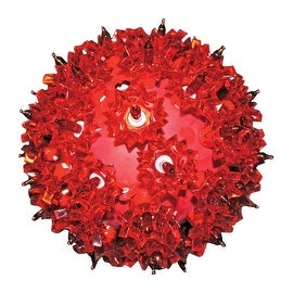 Holiday Bright Lights SLS-BO50-RD Battery Operated LED Spheres, Red