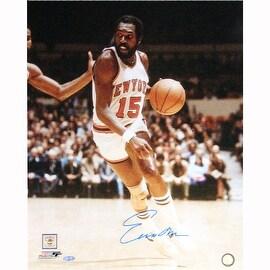 Earl Monroe Home Dribble Vertical 16x20 Photo
