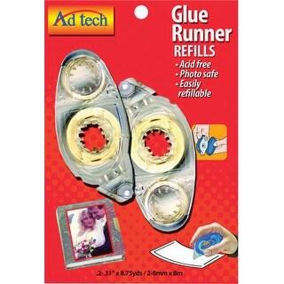 Permanent Glue Tape Runner Refill 2/Pkg
