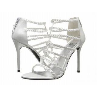 Stuart Weitzman NEW White Shoes Size 11M Stilettos Strappy Heels