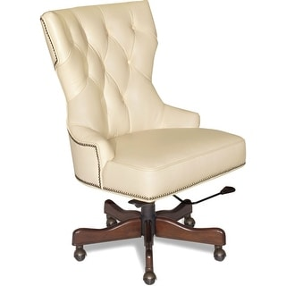 Hooker Furniture EC379-081  Adjustable Height Leather Office Chair from the Primm Collection - Surreal Simone