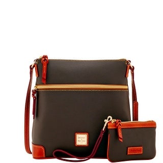 Dooney & Bourke Eva Crossbody W Med Wristlet (Introduced by Dooney & Bourke at $248 in Jun 2017) - brown tmoro